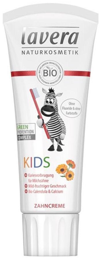 LAVERA Organic Kids - organiczna pasta do zębów dla dzieci bez fluoru 75ml