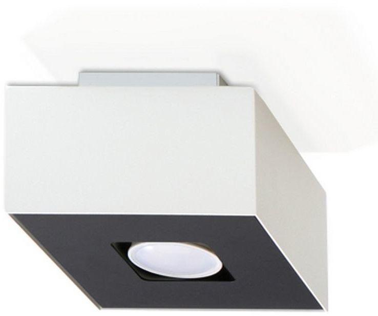 Sollux - plafon mono 1 - biały