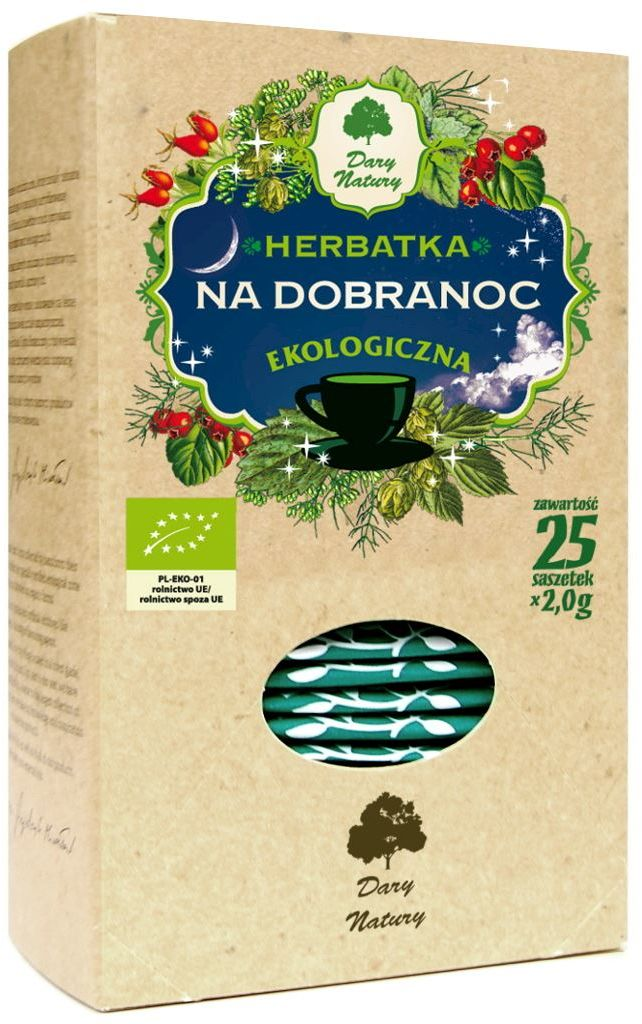 Herbatka na Dobranoc BIO 50g - Dary Natury