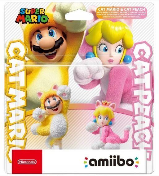 Cat Mario & Cat Peach / Super Mario / Figurka Amiibo / Warszawa