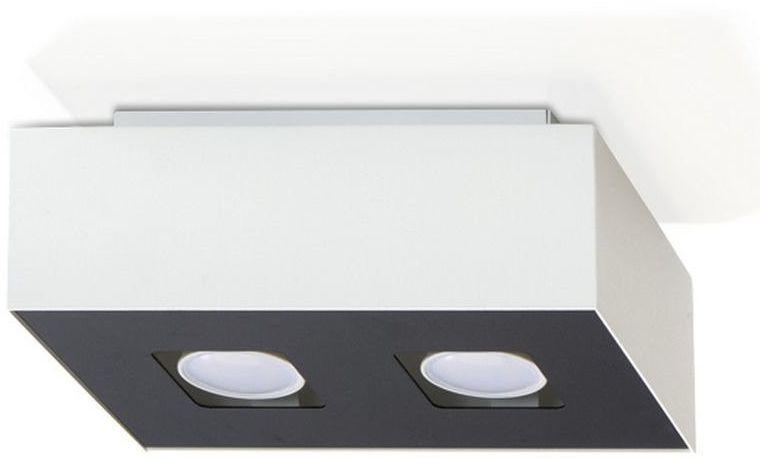 Sollux - plafon mono 2 - biały