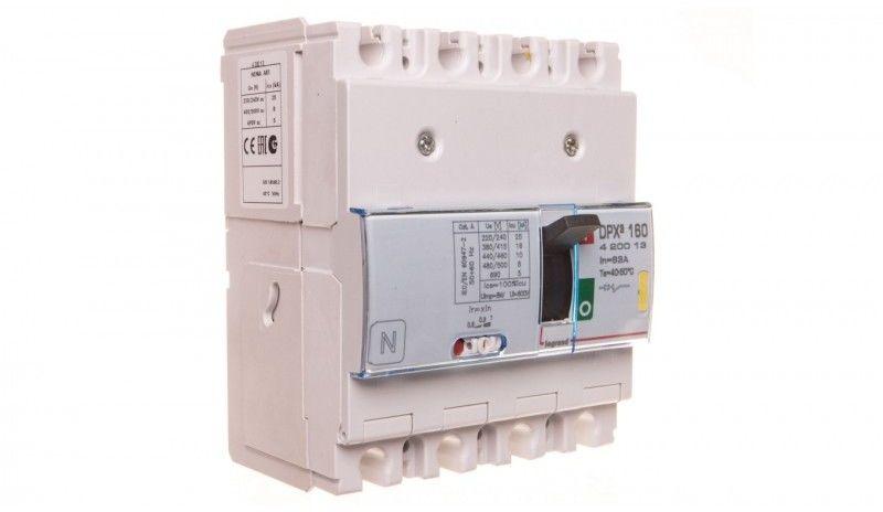 Wyłącznik mocy 63A 4P 16kA DPX3 160 420013