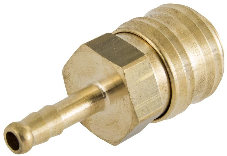 Szybkozłączka z nyplem na wąż 6mm typ 26 Rectus - Wtyk na wąż 6mm 1 sztuka