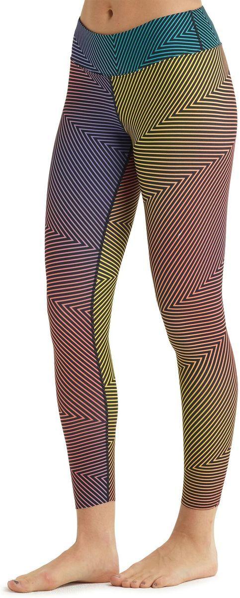 bielizna termoaktywna damska - spodnie BURTON MIDWEIGHT PT Gradient Spun Out