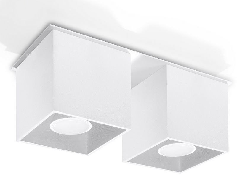 Sollux - plafon quad 2 - biały