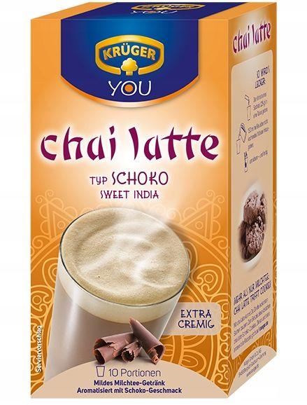 Herbata Kruger Chai Latte z Mlekiem Czeko Niemiecy