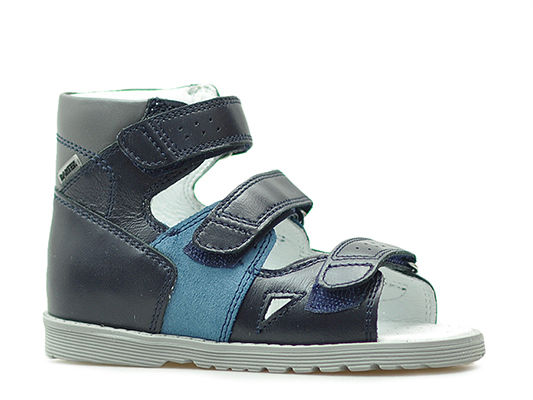 Sandały profilaktyczne Bartek 81804 Granatowe