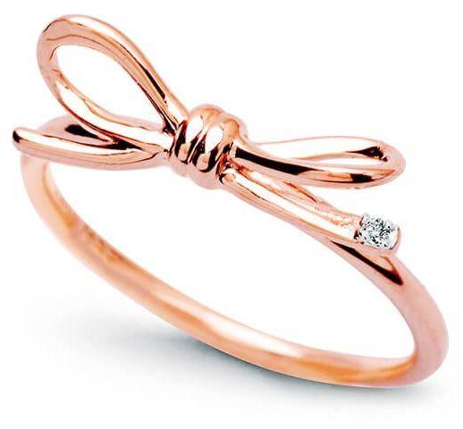 Złoty pierścionek PRD4203 - Diament