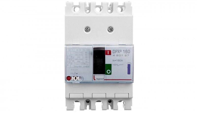 Wyłącznik mocy 160A 3P 50kA DPX3 160 420127