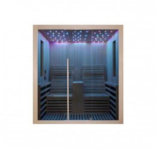 CARBON 2 Sauna na podczerwień 2-osobowa 180x150 cm F10180