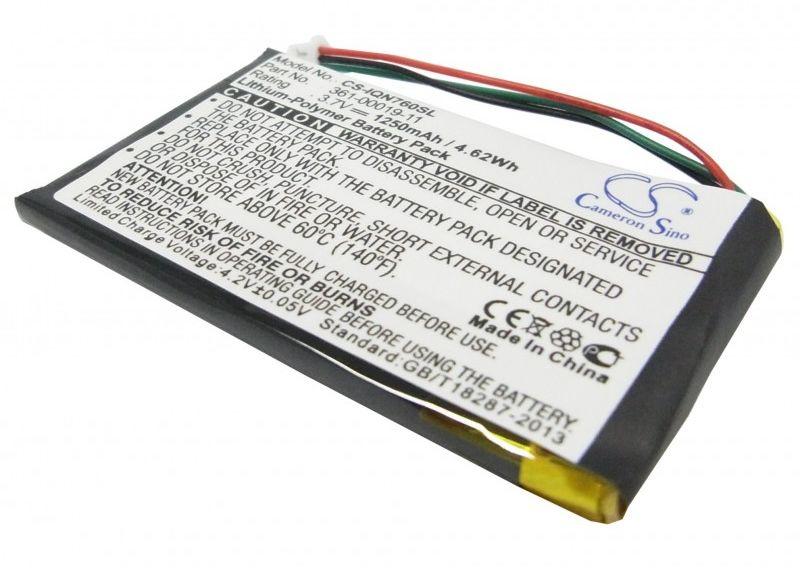 Garmin Nuvi 760 / 361-00019-11 1250mAh 4.63Wh Li-Polymer 3.7V (Cameron Sino)