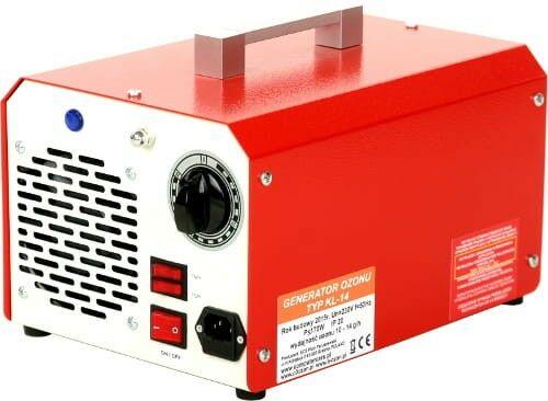 Wielofunkcyjny generator ozonu + jonizator do klimatyzacji, wydajność ozonu: 7 g/h