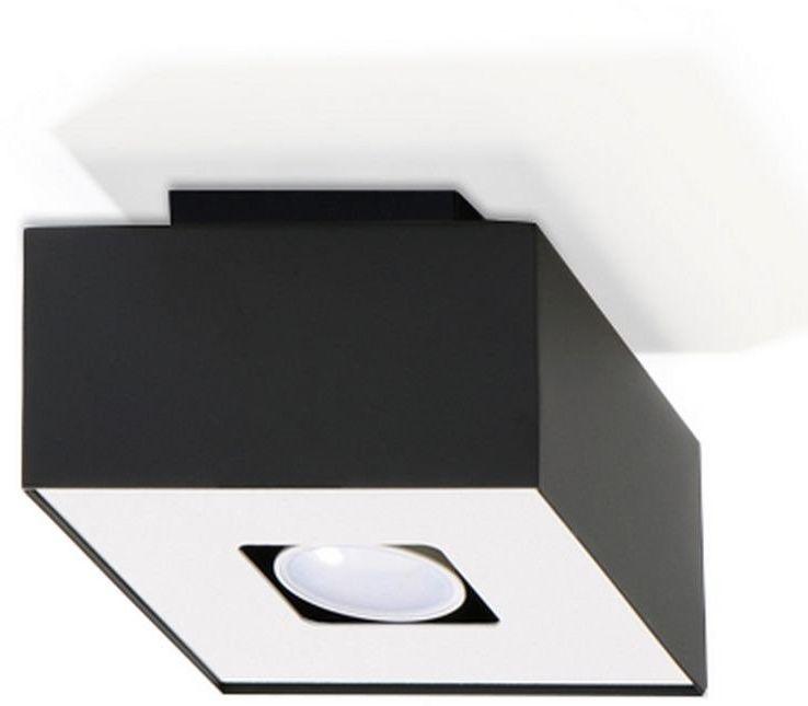 Sollux - plafon mono 1 - czarny