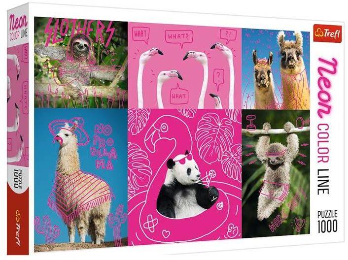 Puzzle 1000 Szalone zwierzaki TREFL