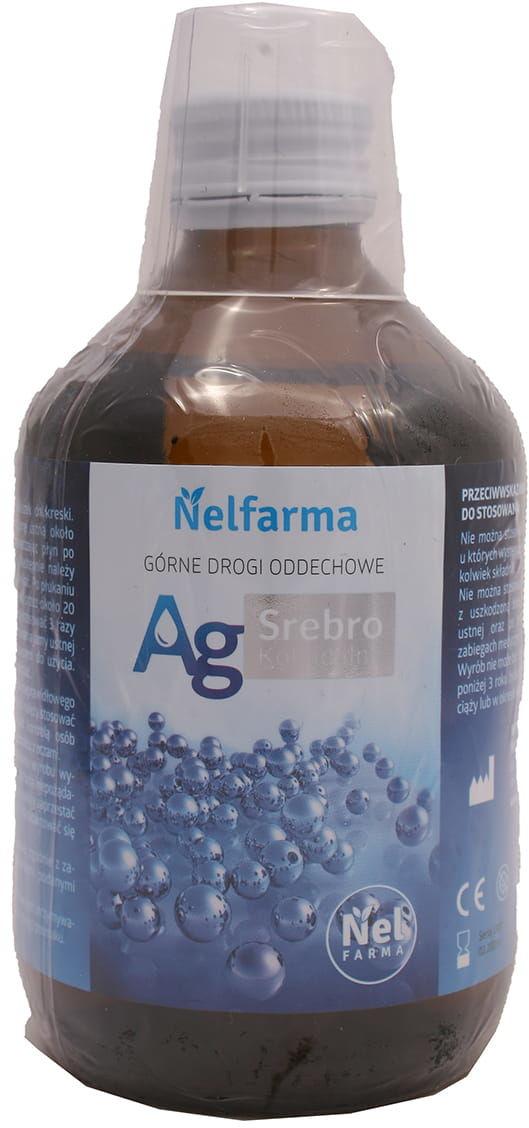 Ag srebro koloidalne - Nelfarma - 300ml