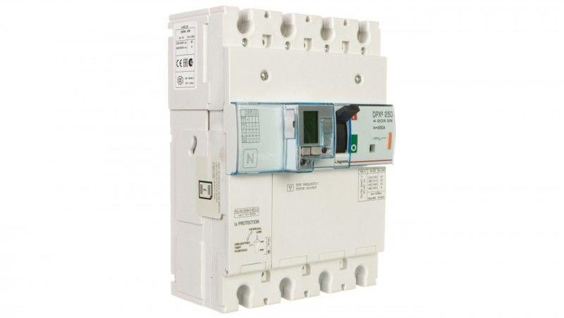 Wyłącznik mocy z modułem różnicowoprądowym 250A 4P 25kA DPX3 250 EL+BL.R 420329
