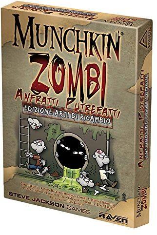 Raven  Munchkin zombies  przekształcanie nietuzinków anfratti i notebook artystyczny