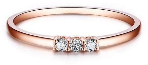 Złoty pierścionek PRD5430 - Diament