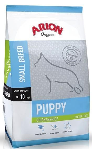 Arion Original Puppy Small Chicken & Rice 3kg Dog