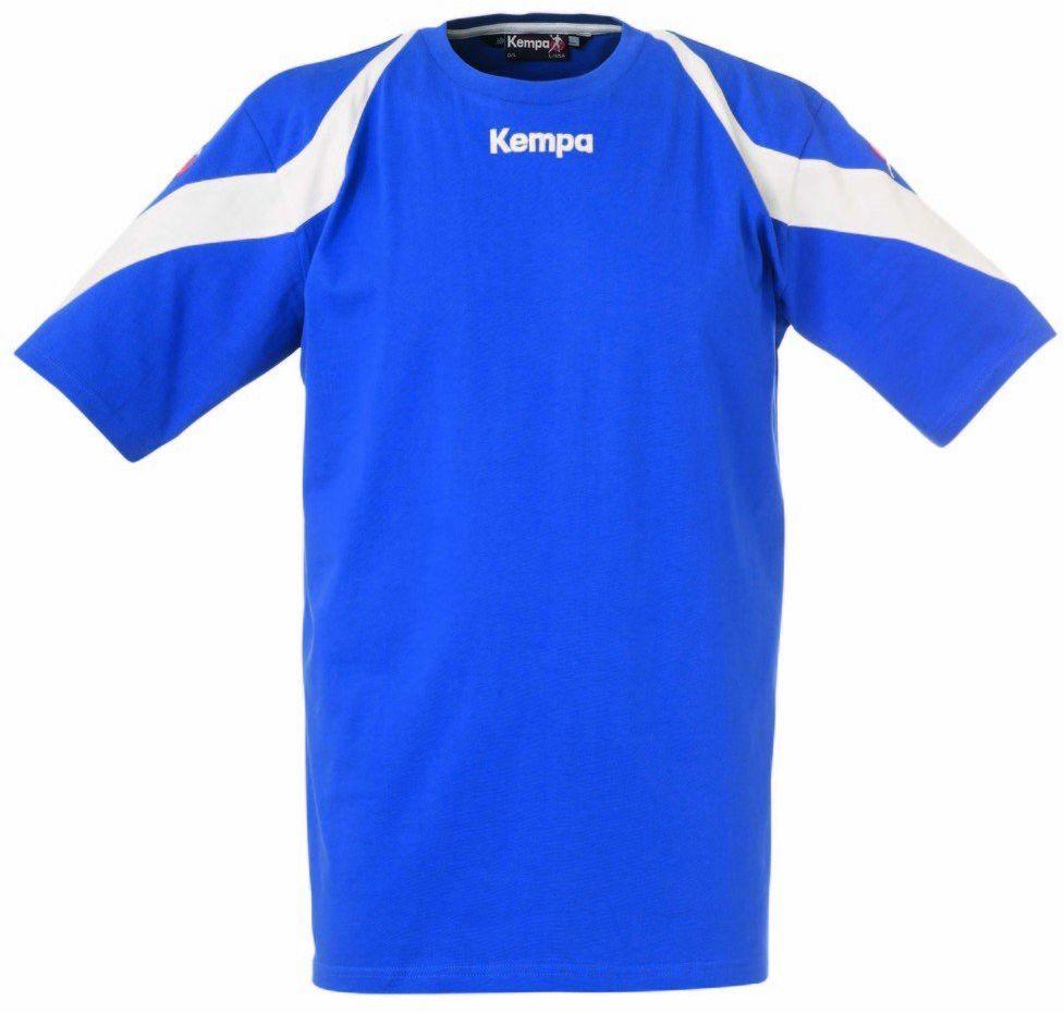 Kempa Tshirt Motion, royal/biały, L