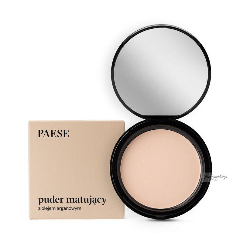 PAESE - Puder matujący z dodatkiem oleju arganowego - 2