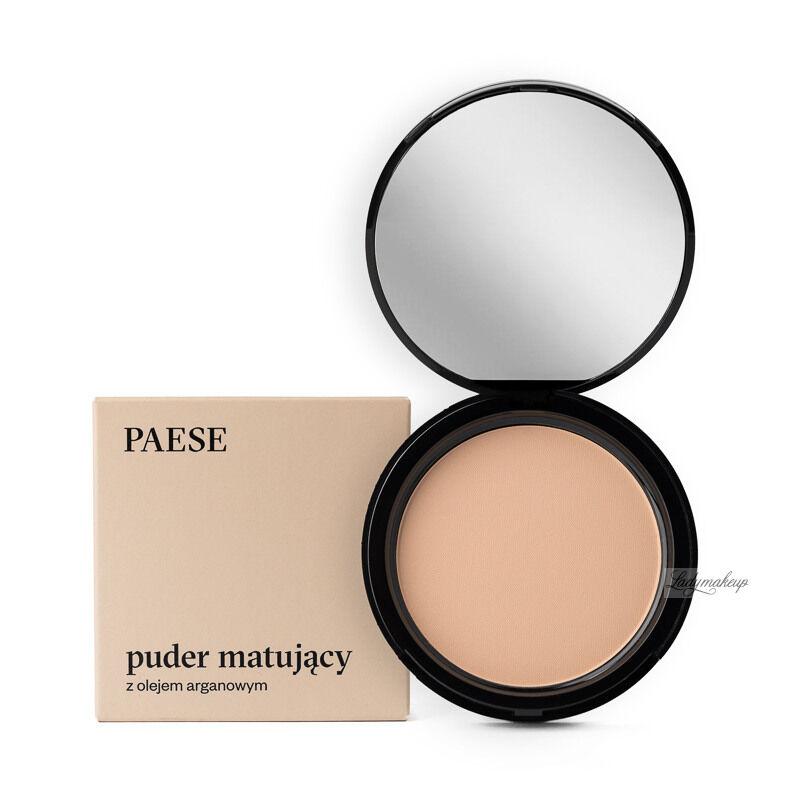 PAESE - Puder matujący z dodatkiem oleju arganowego - 3