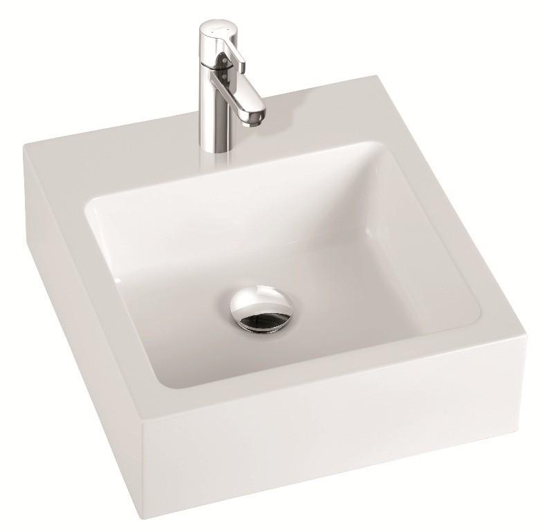 Marmorin umywalka nablatowa Ceti 45cm bez otworu biała 180045020010 __DARMOWA DOSTAWA__