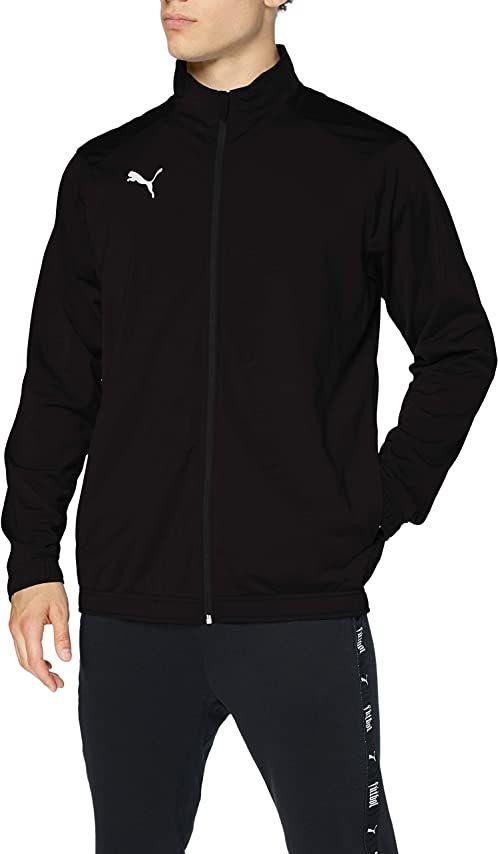 Puma Liga Sideline Poly Jacket Core kurtka męska czarny Puma Black-Puma White S