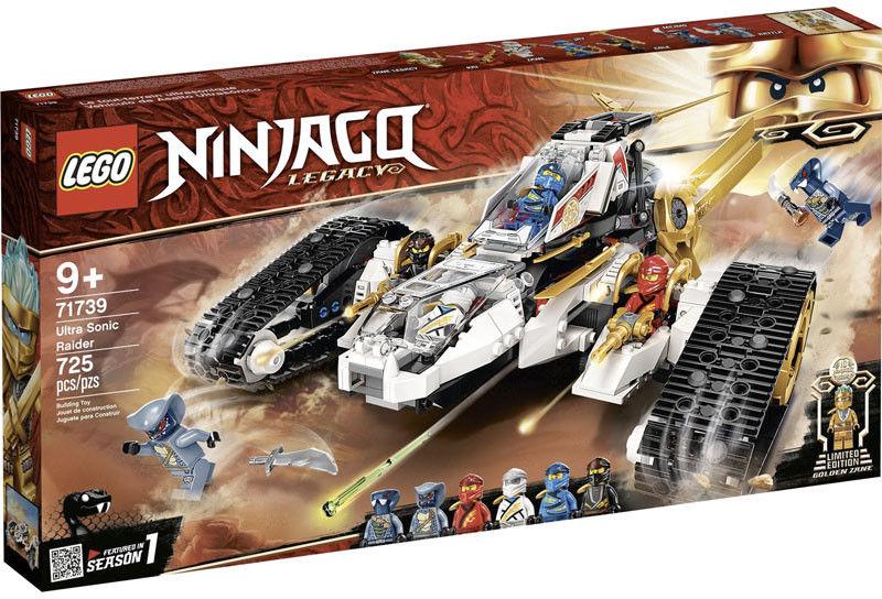 LEGO - NINJAGO - POJAZD ULTRADŹWIĘKOWY - 71739