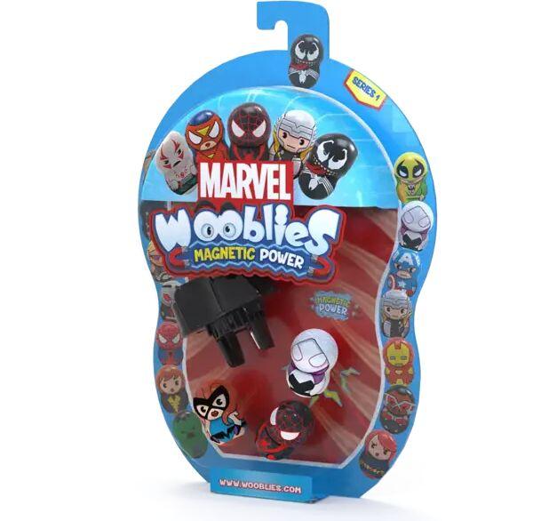 Wooblies Marvel 3 figurki magnetyczne + wyrzutnia WBM011 - TM TOYS