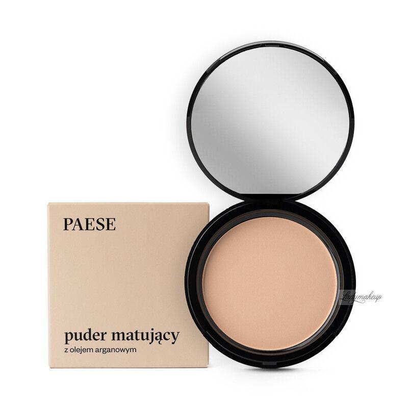 PAESE - Puder matujący z dodatkiem oleju arganowego - 4