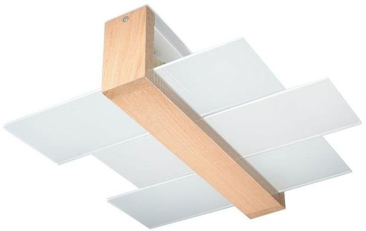 Sollux - plafon feniks 2 - naturalne drewno