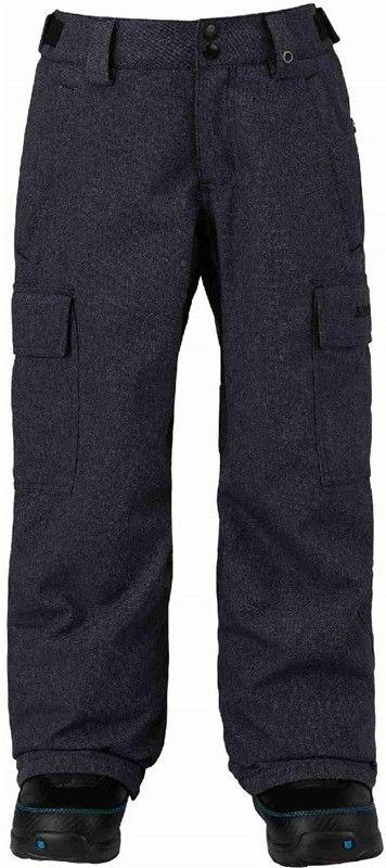 spodnie BURTON - Boys Exile Cargo Pt Denim (401)