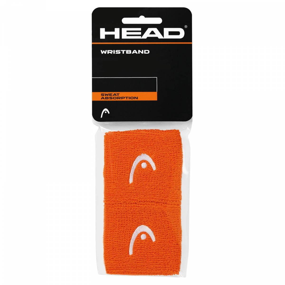 Head Frotki na nadgarstki 2,5'' - orange