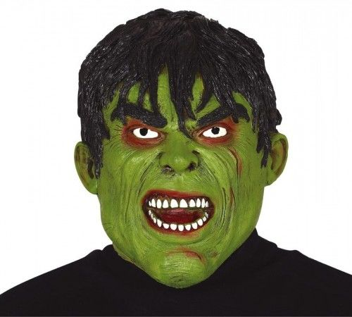 Maska Zielonego siłacza, lateksowa