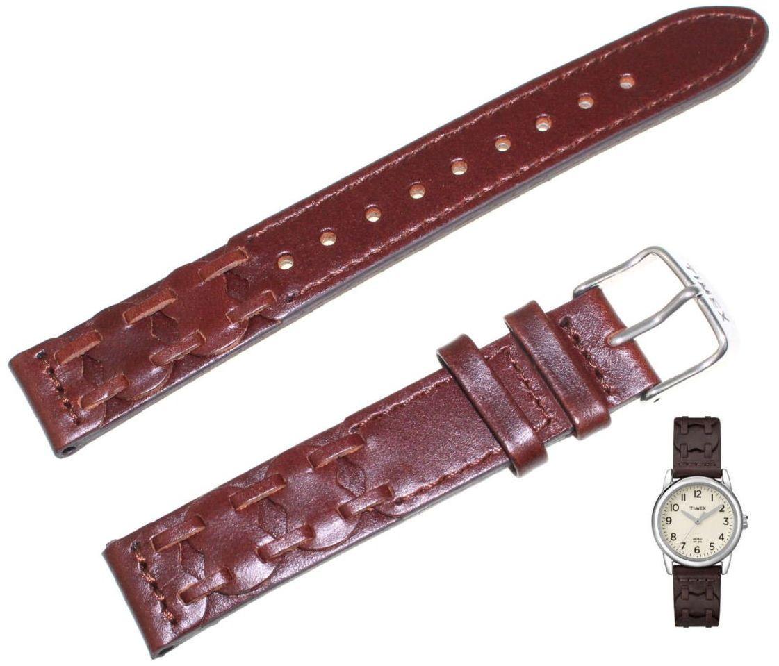 Pasek do zegarka Timex T2N902 P2N902 16 mm Skóra