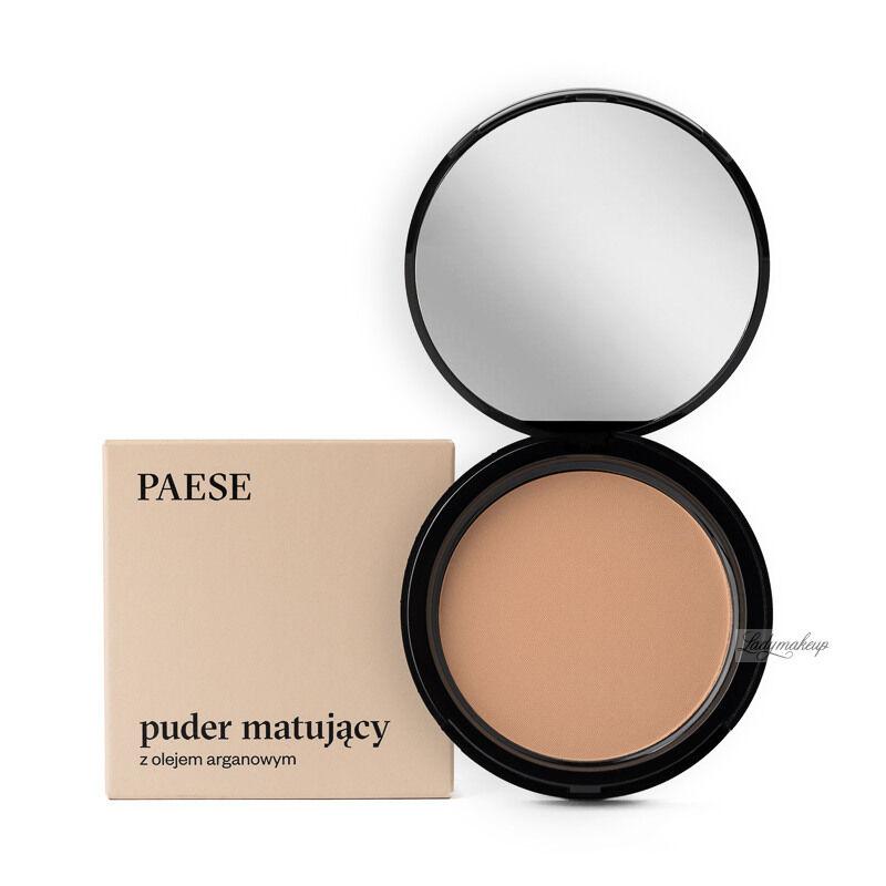 PAESE - Puder matujący z dodatkiem oleju arganowego - 6