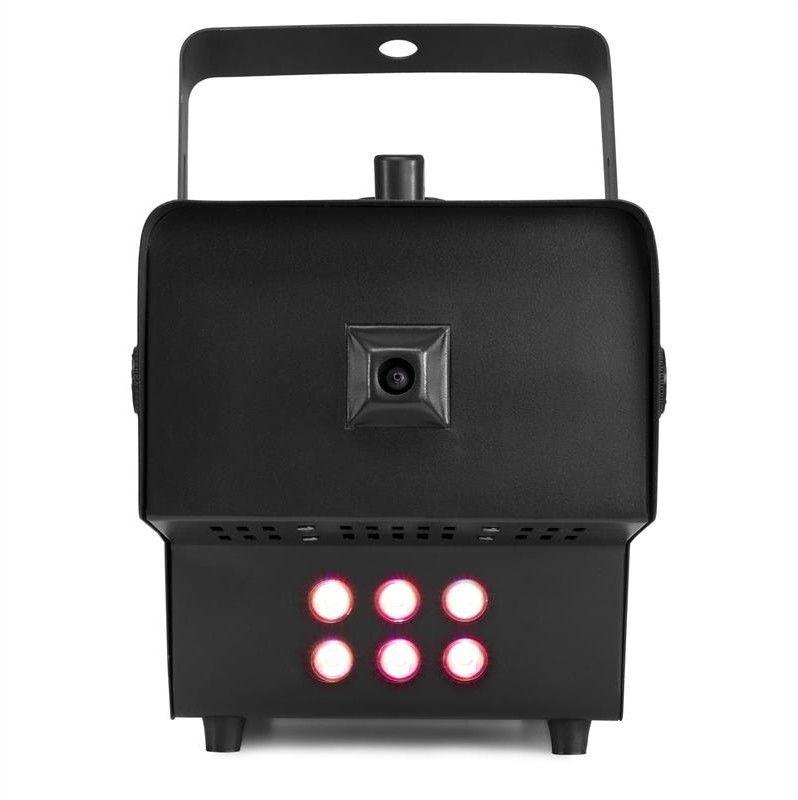 Beamz Rage 1500 LED, wytwornica mgły, 6 diod LED RGB o mocy 9 W, 350m3/min, zbiornik o pojemności 3,5 l, 1500 W