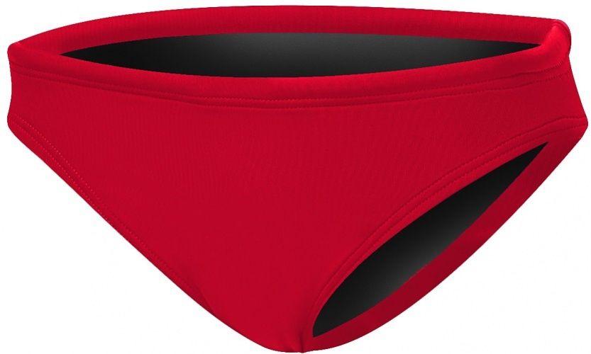 Tyr solid bikini bottom red