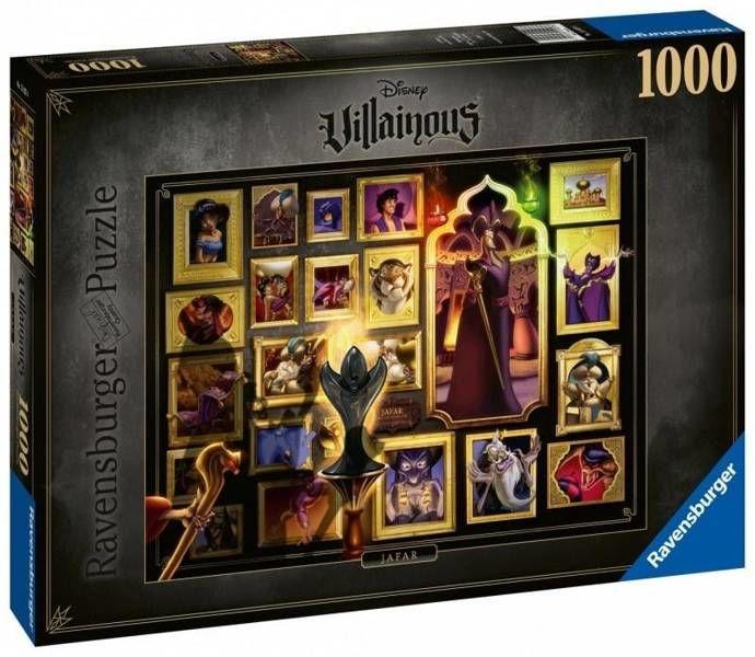 Puzzle 1000 Czarne charaktery Disneya Dżafar - Ravensburger