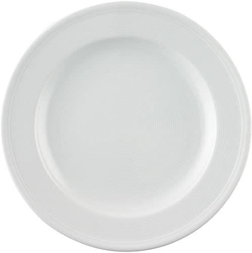 Thomas Trend biały talerz obiadowy 28 cm flaga