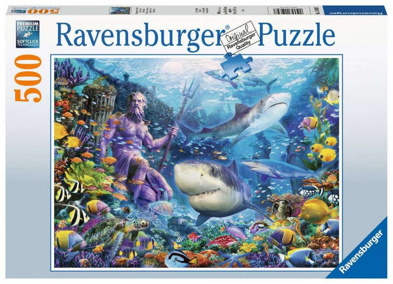 Puzzle 500 elementów Władca mórz