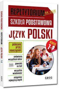Repetytorium Język polski klasy 7-8 - Greg Zespół redakcyjny Wydawnictwa