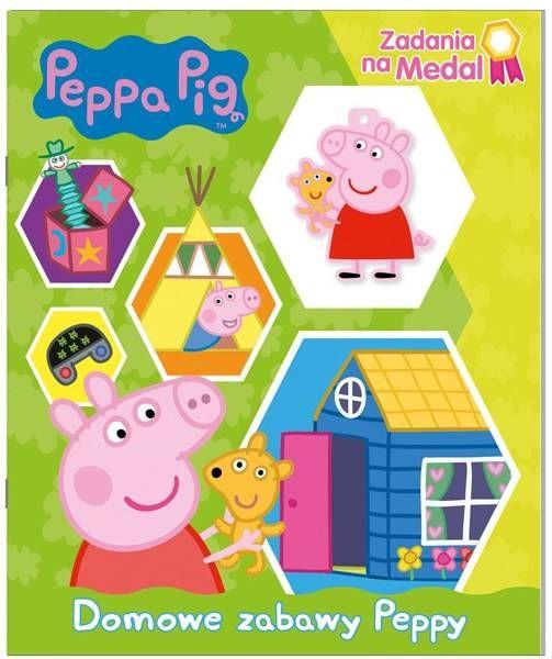 Peppa Pig. Zadania na medal. Domowe zabawy Peppy. Część 1