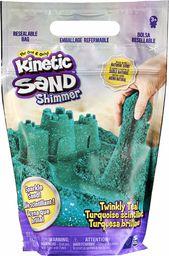 Kinetic Sand 6060801 piasek brokatowy Petrol, 907 g