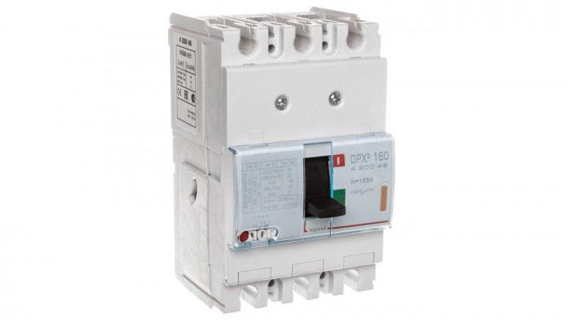 Wyłącznik mocy 3P 125A 25kA DPX3 160 420046