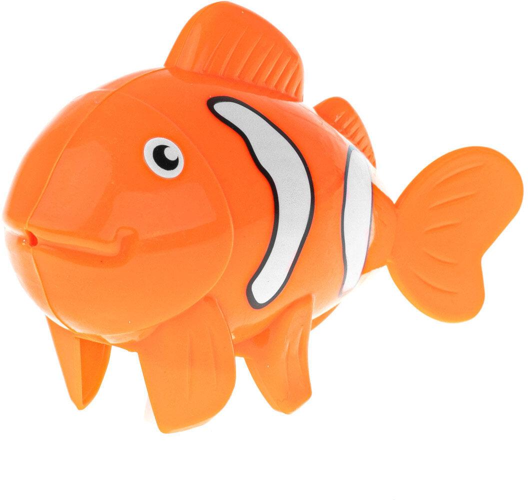 Rybka pomarańczowa zabawka do kąpieli nakręcana
