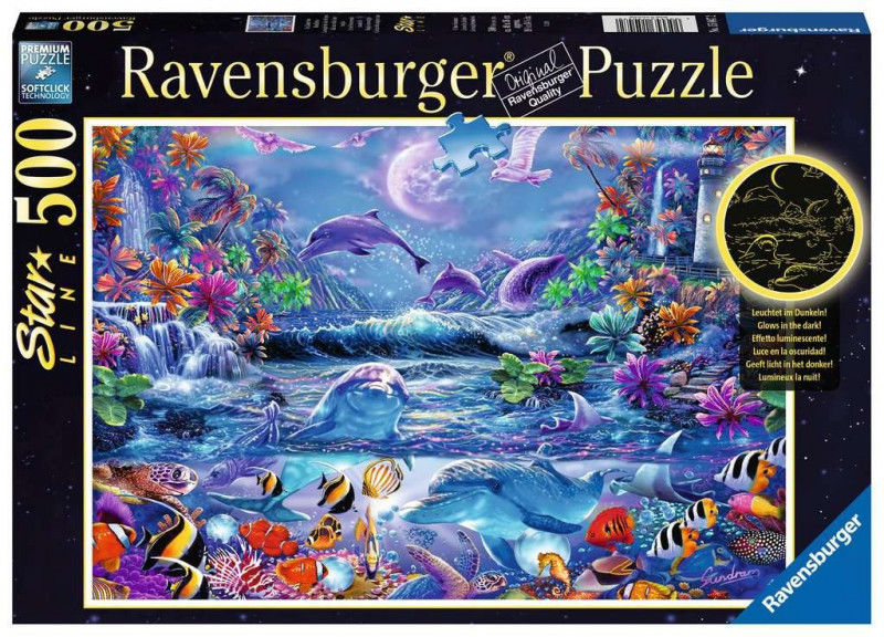 Puzzle 500 elementów Magiczny świat