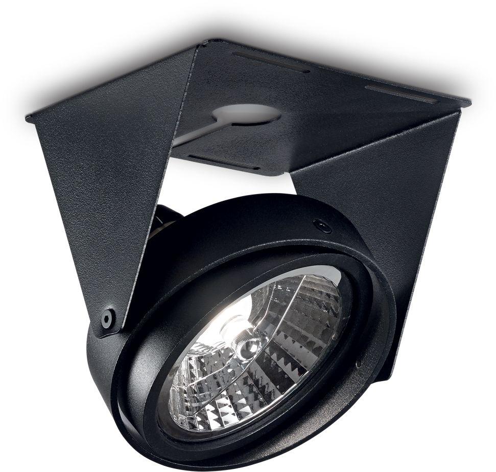 Plafon Channel Big 203140 Ideal Lux nowoczesna oprawa sufitowa w kolorze czarnym