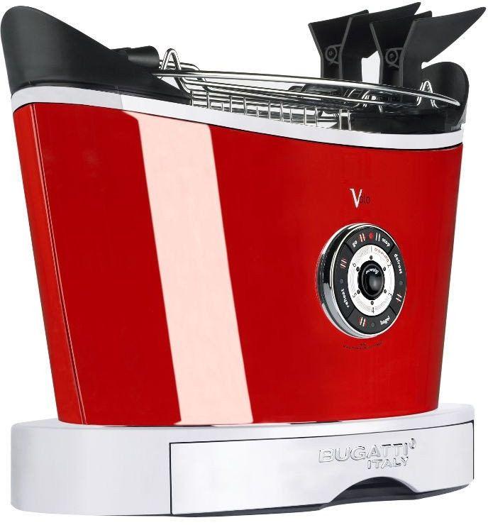 Casa bugatti - toster volo - czerwony - czerwony